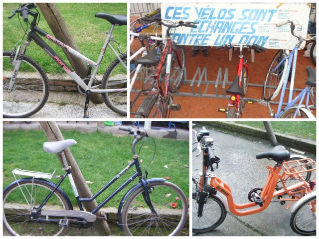 Braderie Lille Isly vélo de l'espoir