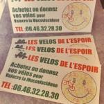 Etiquettes les vélos de l'espoir
