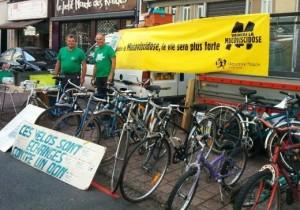Broc a vélo - les vélos de l'espoir