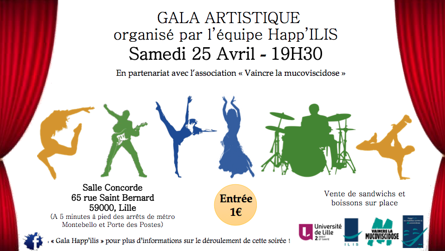 Gala artistique Happ'ILIS