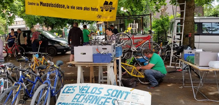 Braderie Lille les vélos de l'espoir