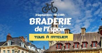 Braderie à l'Atelier - 4 septembre Les Vélos de l'Espoir