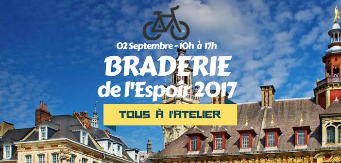 Braderie 2017 - les Vélos de l'Espoir