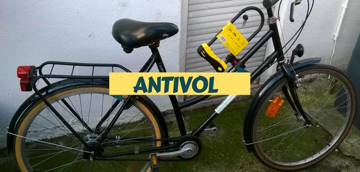 Un antivol offert pour l'acquisition d'un vélo