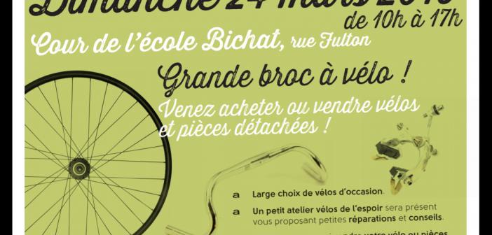 24 mars 2019 : Grande «Broc' à vélos» à Lille